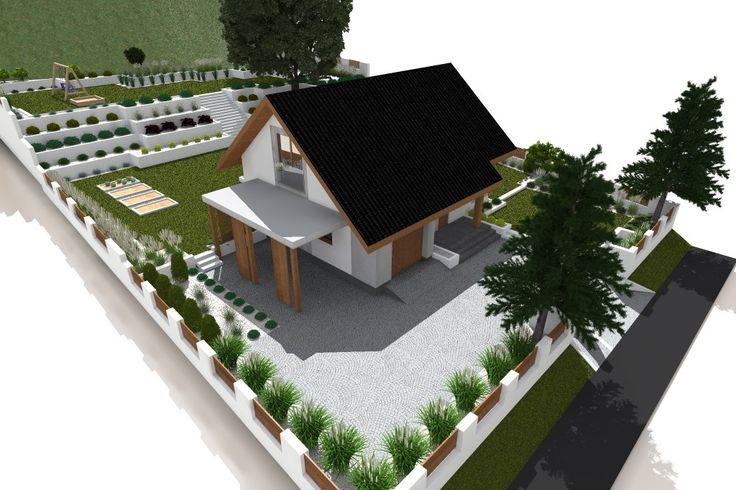 Ogród styl Nowoczesny - zdjęcie od ap. studio architektoniczne Aurelia Palczewska-Dreszler - Ogród - Styl Nowoczesny - ap. studio architektoniczne Aurelia Palczewska-Dreszler