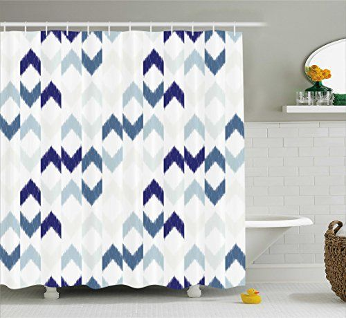Top  Best Navy Shower Curtains Ideas On Pinterest Nautical - Navy blue shower curtain set