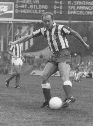 Marcial, con el Atlético de Madrid en un partido de la temporada 1978-79 / Diario AS