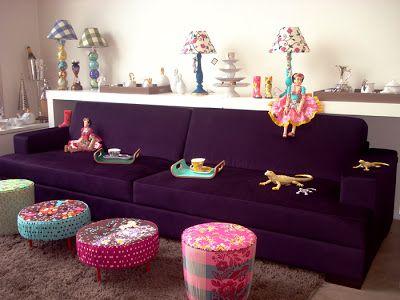 Studio Dezzign: O sofá roxo