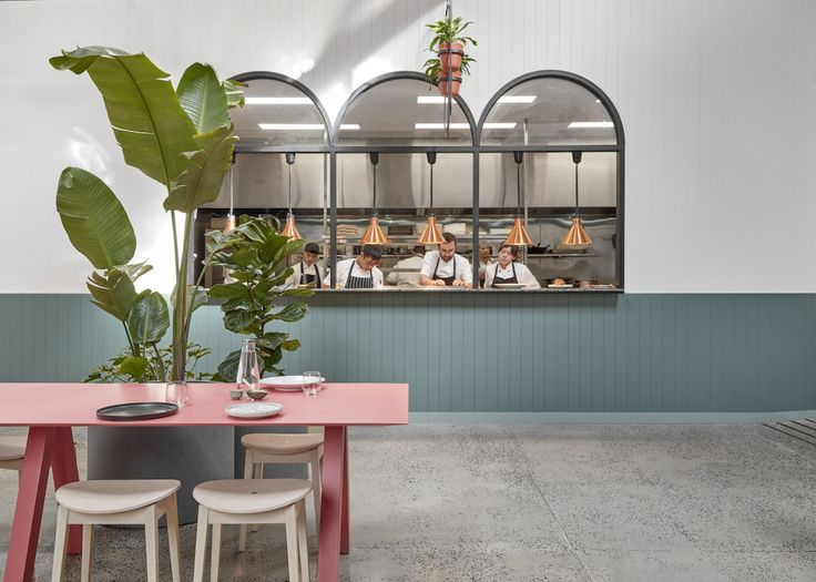 Au79 Café in Abbotsford, Melbourne by Mim Design | Yellowtrace