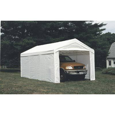 ShelterLogic Enclosure Kit for Max AP 20ft.L x 10ft.W Canopy - Fits 55418 and 55420, Model# 25775 by ShelterLogic. $69.99. Use the ShelterLogic Canopy Enclosure Kit to convert your 20 x 10ft. MaxAP canopy to a fully enclosed shelter. 3-layer ripstop UV-treated, waterproof poly fabric is great for SUVs, boats, commercial and industrial equipment, trucks, trailers and bulk storage. For use with Item#s 55418 and 55420 Max AP all-purpose canopies.Images shown are representat...
