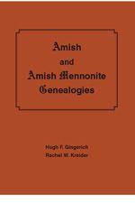 Amish and Amish Mennonite Genealogies