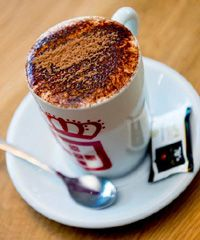 Dark chocolate 30% cacao. Healthy option for body and sole. When you love free chocolate visit vida e caffee