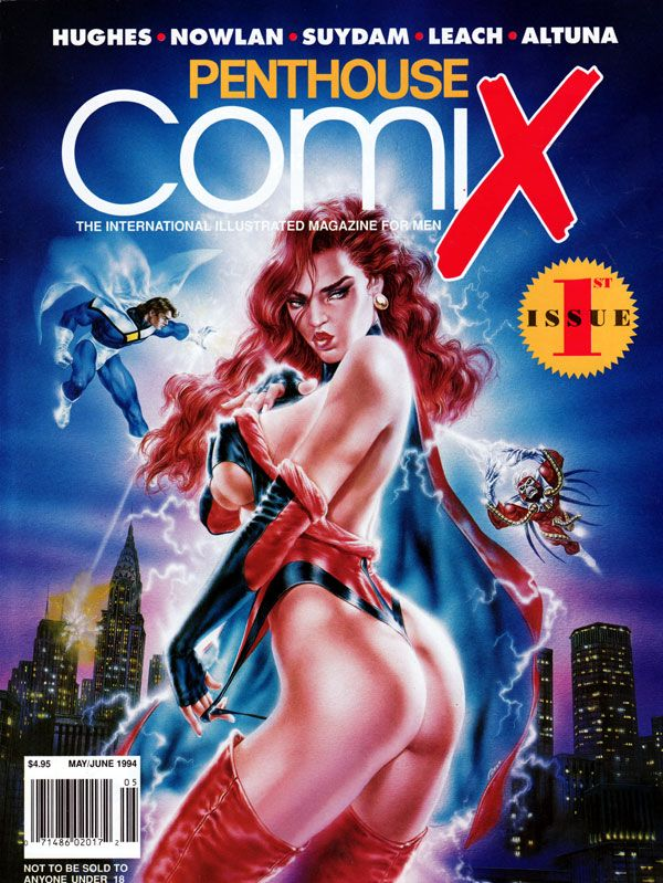 Penthouse Comix # 1 - May/June 1994