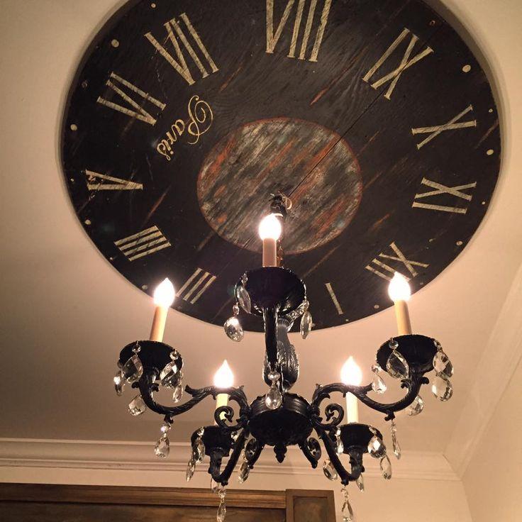Clock Ceiling Medallion <3