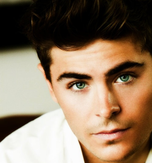 Zac Efron.  OH MY GOSH those eyes!!!  I think I stopped breathing for a minute...
