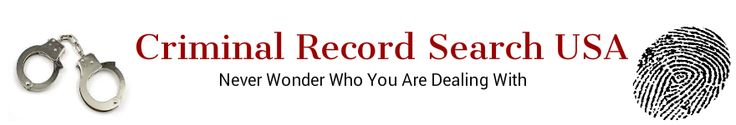 When you need to know if someone has a criminal past, you can lookup criminal arrest records for his or her name. This simple process is called a background check. www.criminalrecordsearchusa.com
