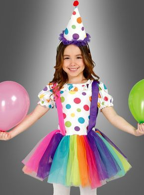 Clown Kostüm Kinder bei » Kostümpalast.de