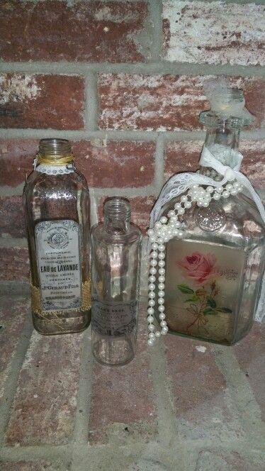 PLP vintage bottles