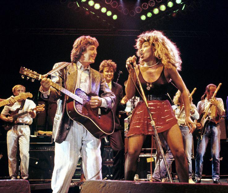 Tina Turner and Paul McCartney - get back