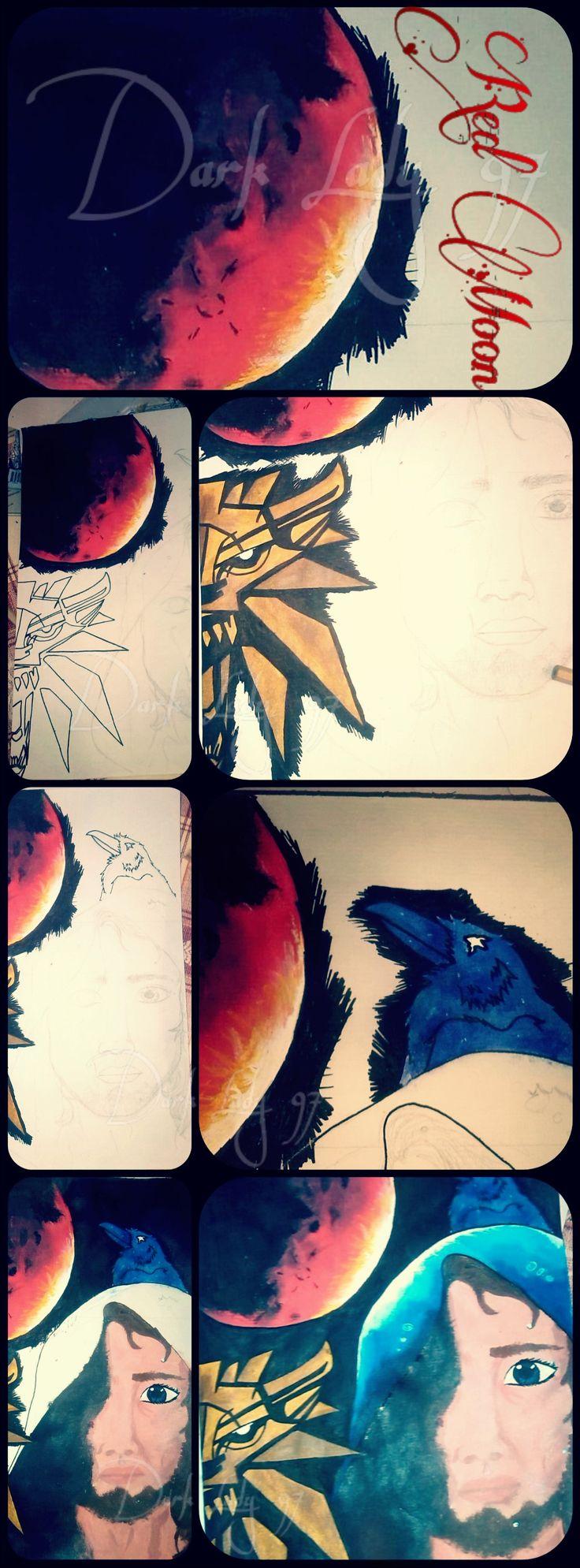 Red Moon  by Rigoni Chiara // Dark Lady 97