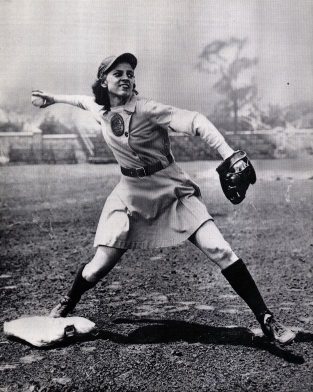 """Pinned from """"20 Pictures From The All-American Girls Professional Baseball League"""" on buzzfeed.com"""
