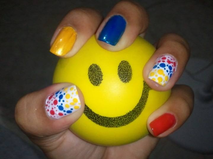 Colombian Nails by Me! :)