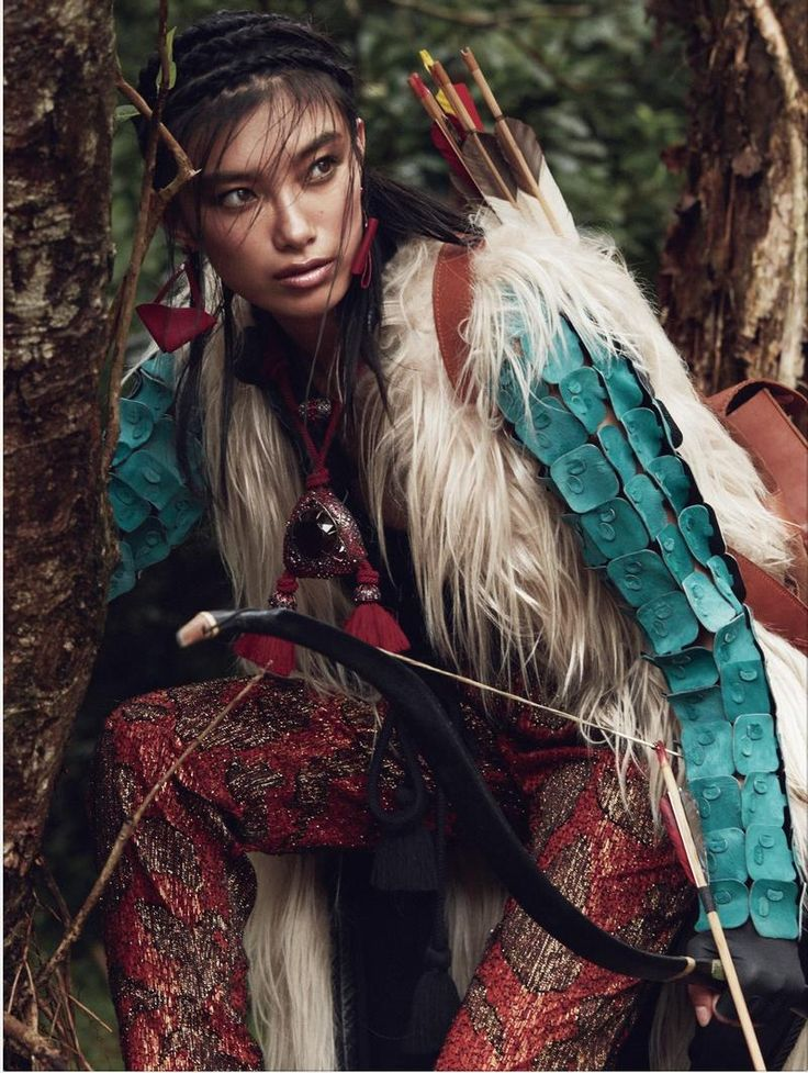 Boho-Warrior (SCMP Style (South China Morning Post Style Magazine)) #tribal #eclectic #nomad