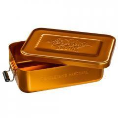 Gentelmens Lunchlåda i metall - Guld