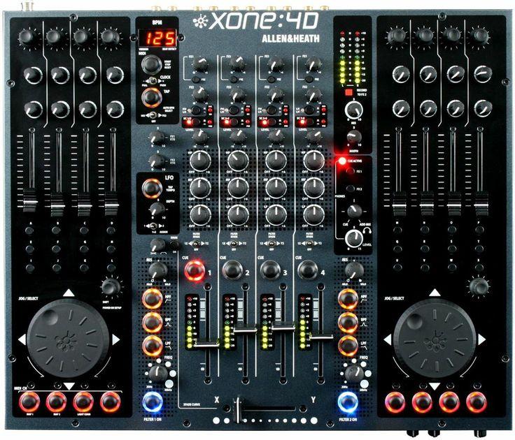Allen & Heath Xone 4D Controller & Mixer