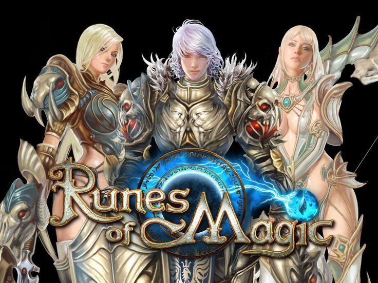 Inspirational Runes of Magic MMORPG game