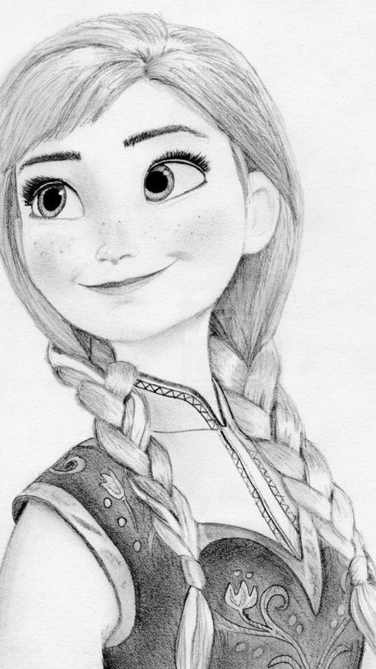 Anna gezeichnet