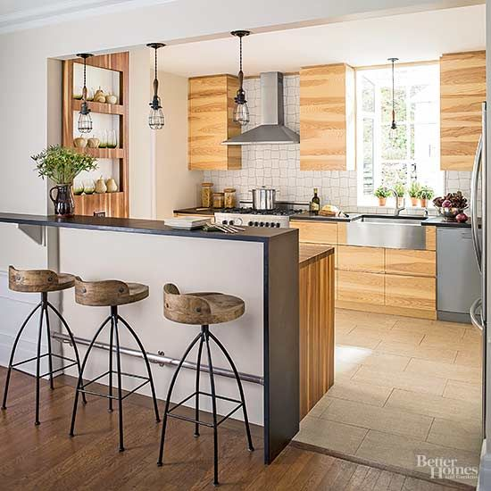 30 Cool Industrial Design Kitchens: 1000+ Ideas About Kitchen Peninsula On Pinterest
