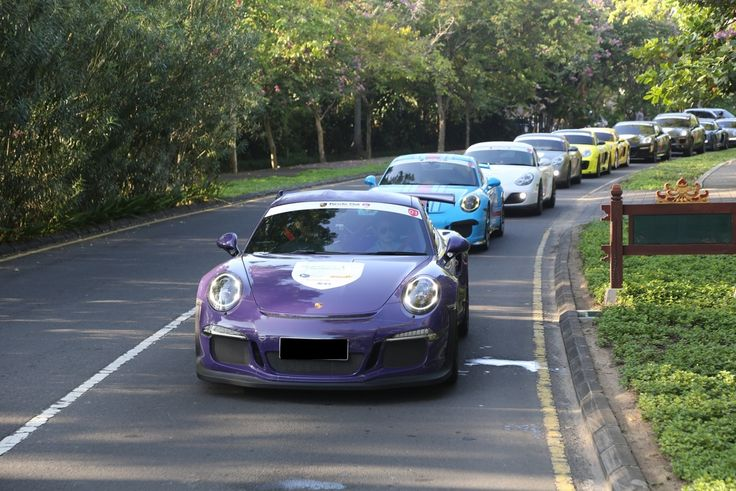 Porsche Club Indonesia Gelar Fun Touring Di Bali 2