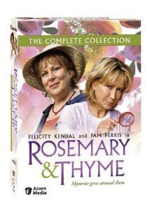 """Rosemary and Thyme box set (which includes all 3 seasons of the British TV show) -- """"Set amongst the stunning gardens of Europe, Rosemary Boxer and Laura Thyme, two professional gardeners, find themselves drawn into solving mysterious crimes."""" This show is also available to watch on Netflix"""