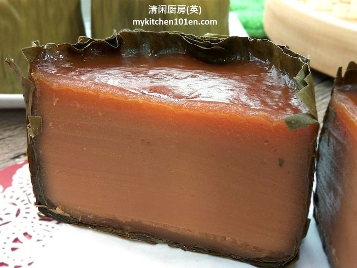 "Nian gao (Chinese: 年糕, means Chinese New Year cake) is a must-have food during Chinese New Year. It is a homonym for ""higher year"", which means raising oneself higher in the coming year…"