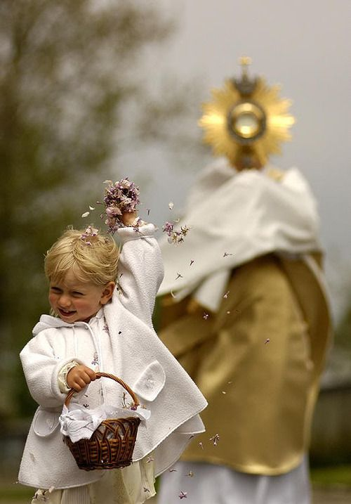 Feast of Corpus Christi - Eucharistic Procession -- http://www.therealpresence.org/eucharst/pea/cchristi.htm