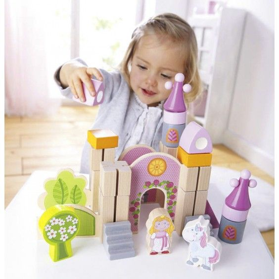 Haba - Wooden Play Blocks Enchanted Castle Oh, I think someone would give her right hand for a castle! #Entropywishlist #pintowin