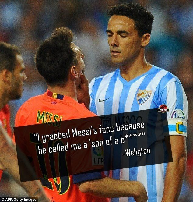 Weligton hits back at messi pic.twitter.com/3QFCOGyQOa