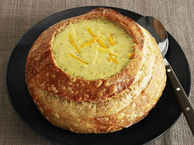 Almost-Famous Broccoli-Cheddar Soup Recipe : Food Network Kitchen : Food Network - FoodNetwork.com