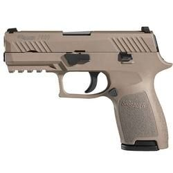 """SIG Sauer P320 Compact in .357 SIG with 3.9"""" barrel, 13 rounds and FDE finish"""