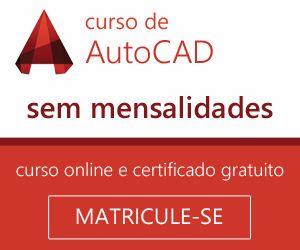 Curso Online de AutoCAD sem mensalidades e com Certificado Digital gratuito.    O Curso Online ...