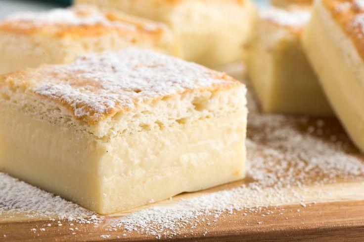 How To Make Vanilla Magic Cake | Recipe | Magic cake ...