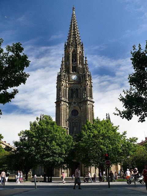San sebastian cathedral  Pais Vasco
