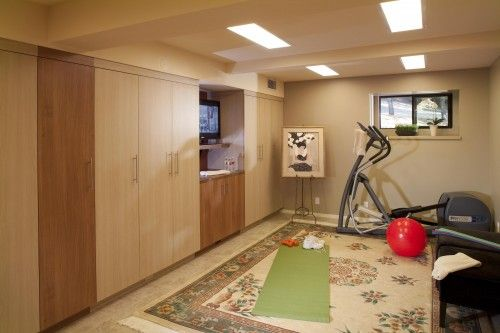 Wish we had a dedicated space for gym equipment!Gym Room, Exercise Room, Gym Equipment, Home Gyms, Design Ideas, Basements Gym, Exercies Room, Beds Design, Gym Design