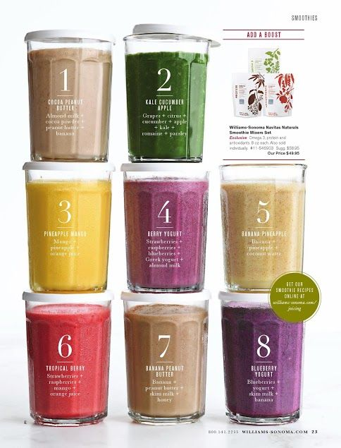8 best smoothies
