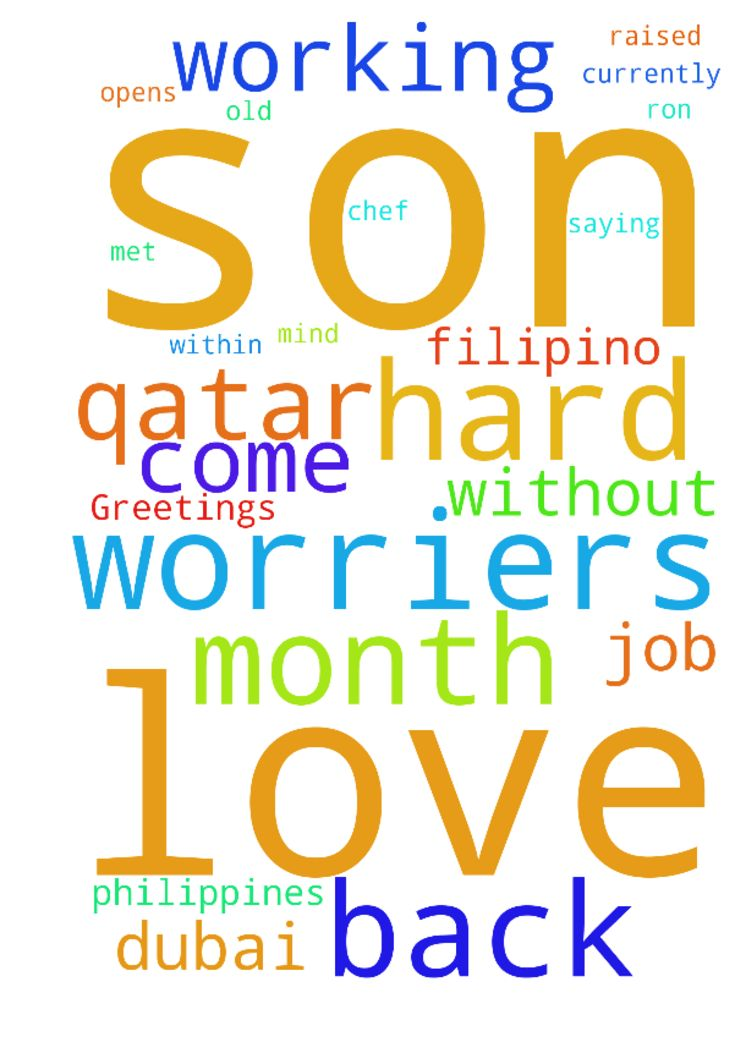 Dear All prayer worriers,Greetings in - Dear All prayer worriers, Greetings in the name of Lord My name is rina raut and i am from nepal but currently living in the Philippines and i have a 8 months old son.. my fiance is a filipino. I met him when i was working in Dubai and fell in love but i was married before him but he died cuz of HIV. So everything was ok and without marriage my filipino husband i became pregnant so we both left job in dubai and came to his home philippines. It was hard…