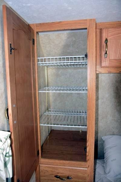 Simple Dirty Clothes Storage  Laundry Bags  Small Space  RV Closet