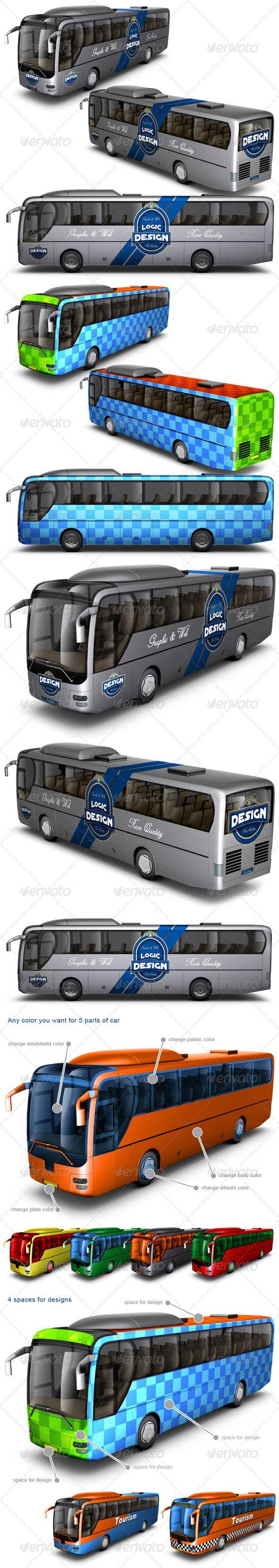 Bus Mock Up Download here: https://graphicriver.net/item/bus-mock-up/2465312?ref=KlitVogli