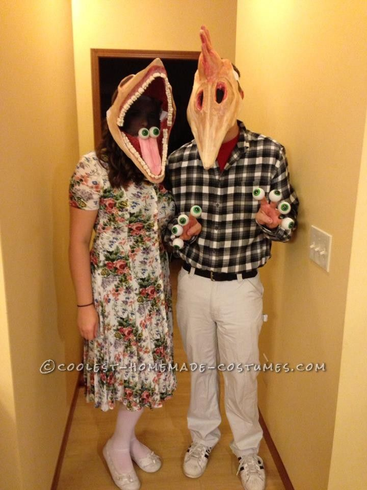 deceased couple from beetlejuice costumes - Couple Halloween Costumes Scary