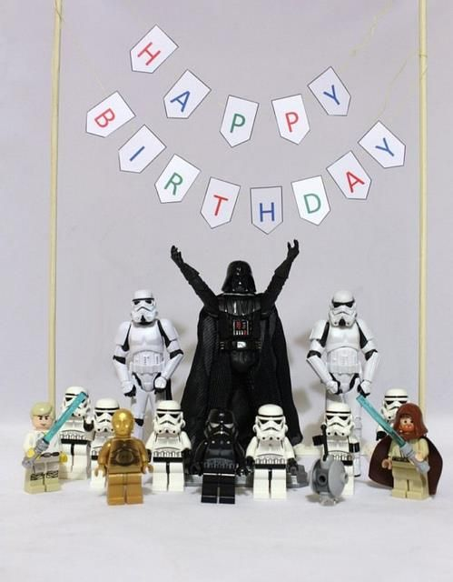 18 best images about Star Wars Birthday Greetings – Star Wars Birthday Card