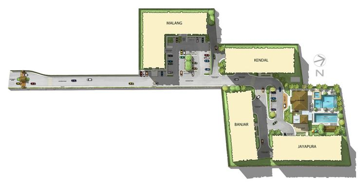 BALI OASIS Pasig City by Filinvest Phase 2 Site Development Plan