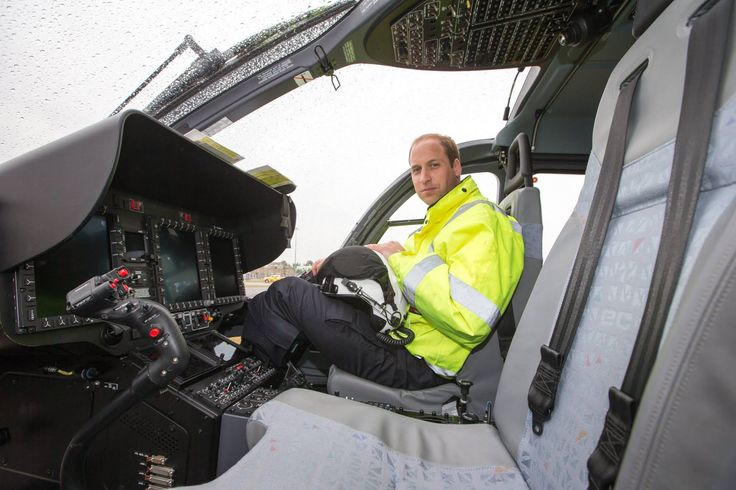 Duke of Cambridge last day at work, 27th July 2017