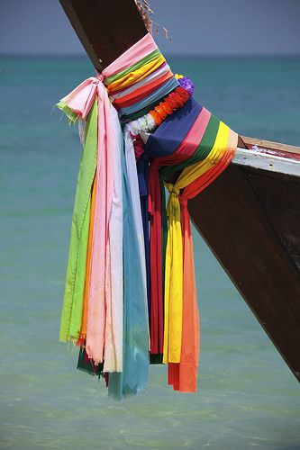 Thailand (by Fotomatom): Rainbowdip Lve, Boats Scenery, Photo