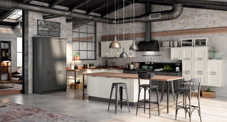 Cucina classica | Arredamento, Cucina industriale, Idee ...