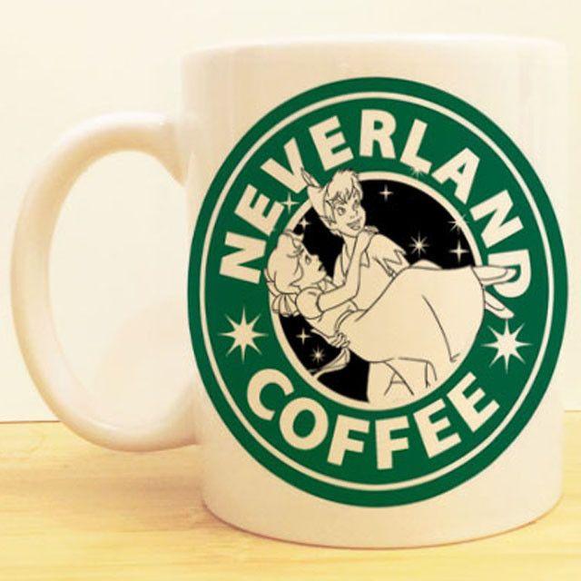 Peter Pan S Neverland Coffee Ceramic Mug Dishwasher Microwave Safe