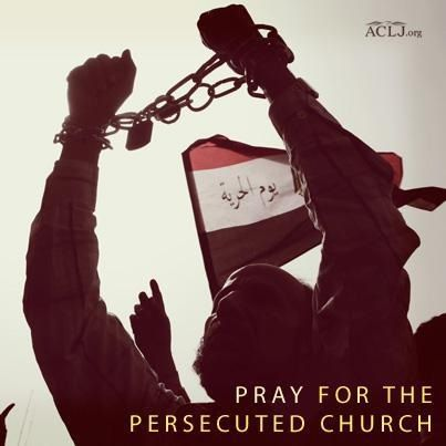 """""""Reports indicate that attacks on Christians and other religious minorities have increased significantly since the Muslim Brotherhood took power.""""  Jay Sekulow, American Center for Law and Justice.  Share and sign the petition to demand the United States stop supporting radical Egypt with our tax dollars!  ACLJ.org"""