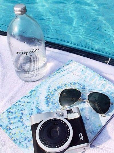 summer essentials 2015 // antipodes + ray bans + instax camera