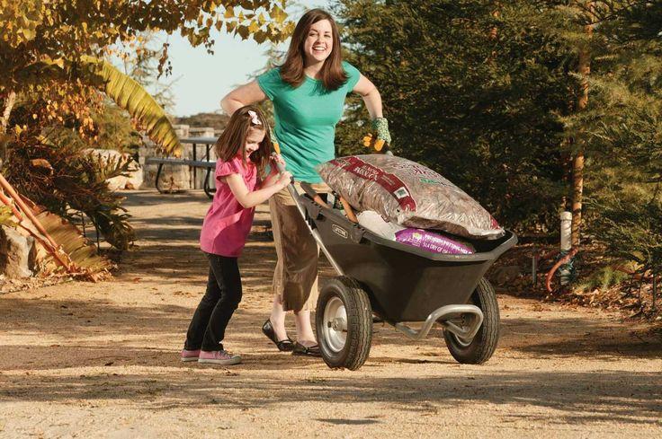 Looking for heavy duty two wheel wheelbarrow ? Here is the best two wheel wheelbarrow. Get details of this wheelbarrow